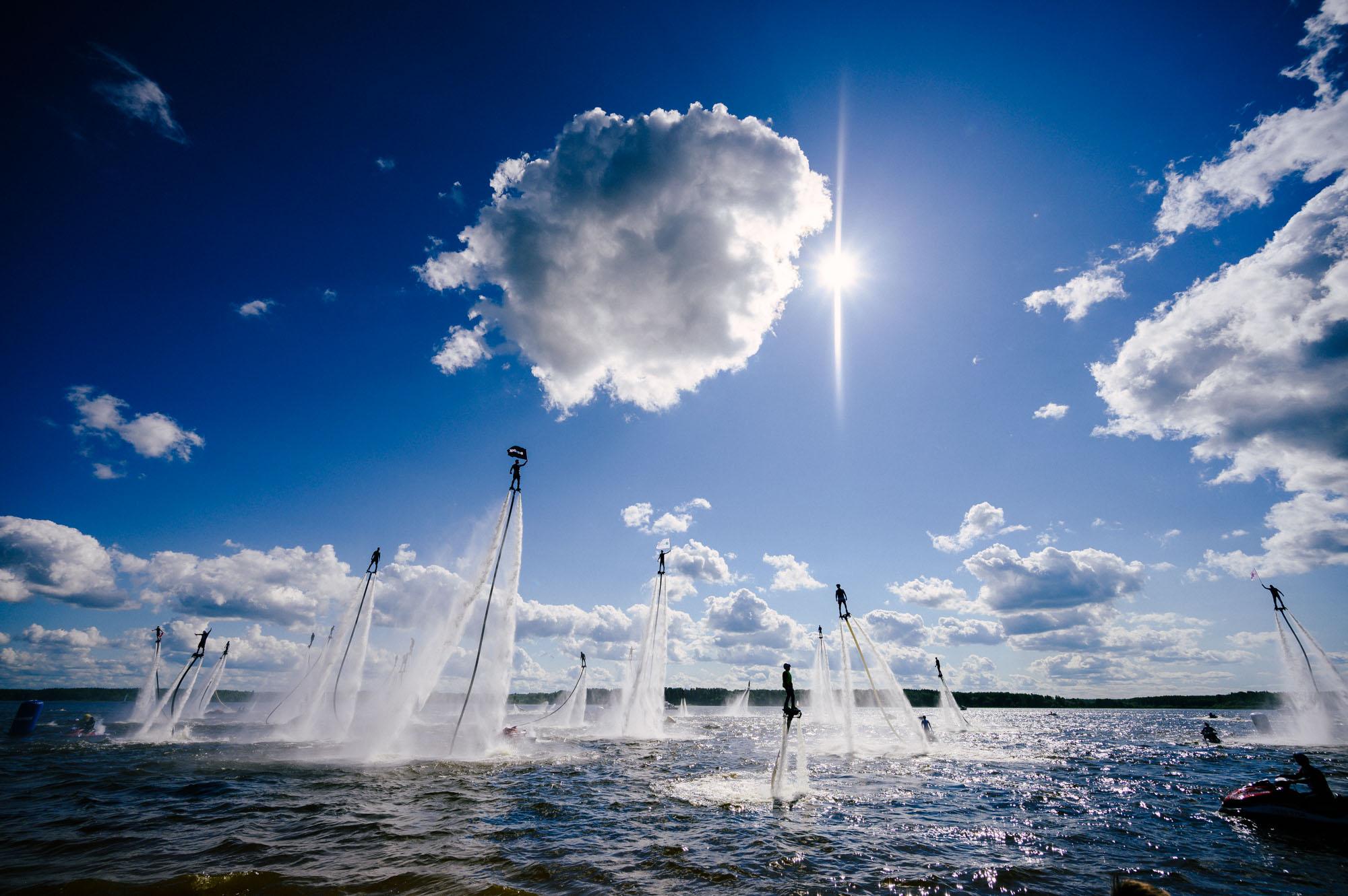 Fly fest. Международный фестиваль по водному экстриму